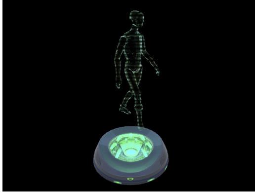 SwordMaster Hologram Shader