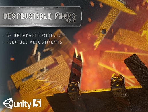 Destructible Props Pack