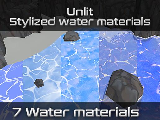 Unlit Stylized Water Pack