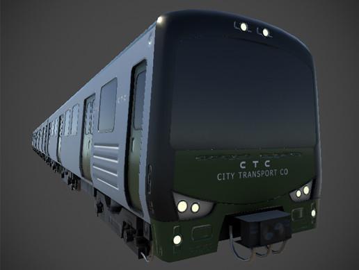 Subway Train - HD Exterior