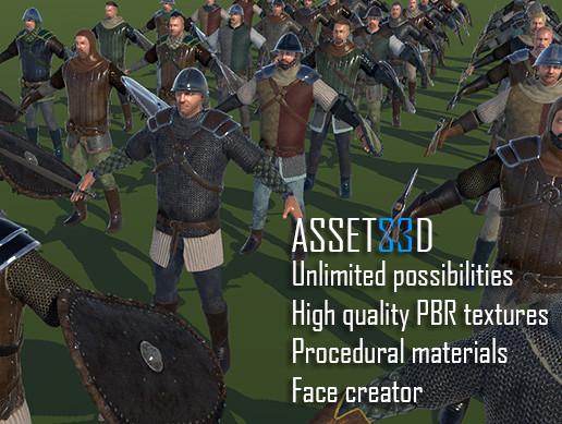 Unity 3D - Little Heroes Mega Pack by Meshtint Studio