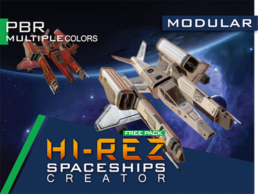 Hi-Rez Spaceships Creator Free Sample