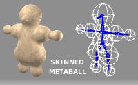 Skinned Metaball Builder