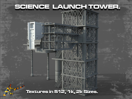 SCIENCE LAUNCH TOWER