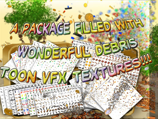 Debris Toon VFX Texture Pack - Asset Store