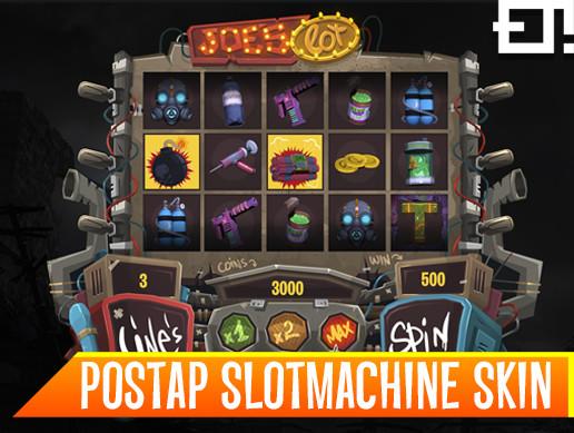 Postap Slot machine game template