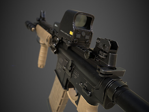 Military style Assault rifle
