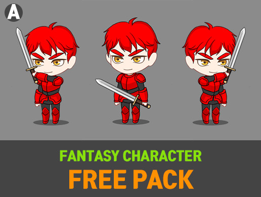 Fantasy Character FREE Pack