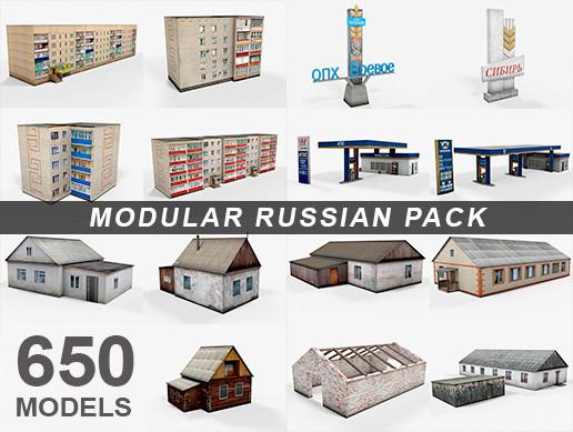 Modular Russian Pack