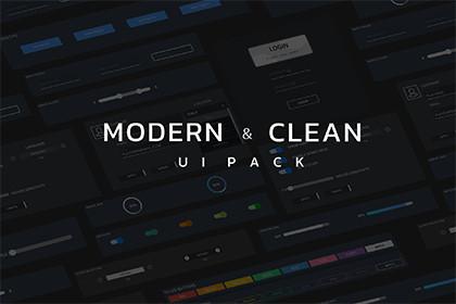 Modern and Clean UI Pack