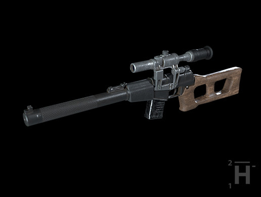VSS Vintorez Sniper Rifle [PBR Weapons Pack]