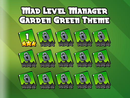 Garden Green Theme for Mad Level Manager