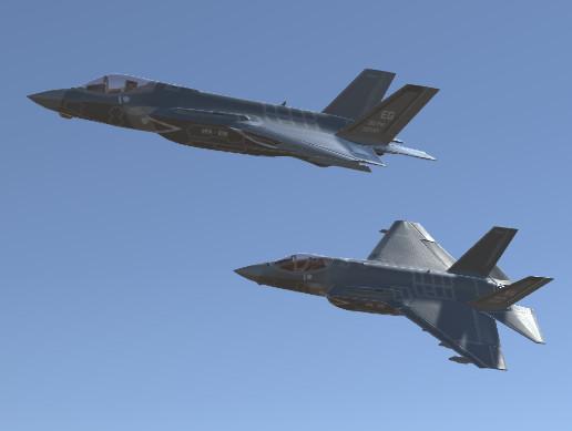 Jet Fighter Aircraft F-35 Lightning