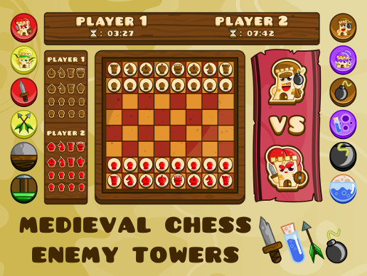 Medieval Chess - Enemy Towers