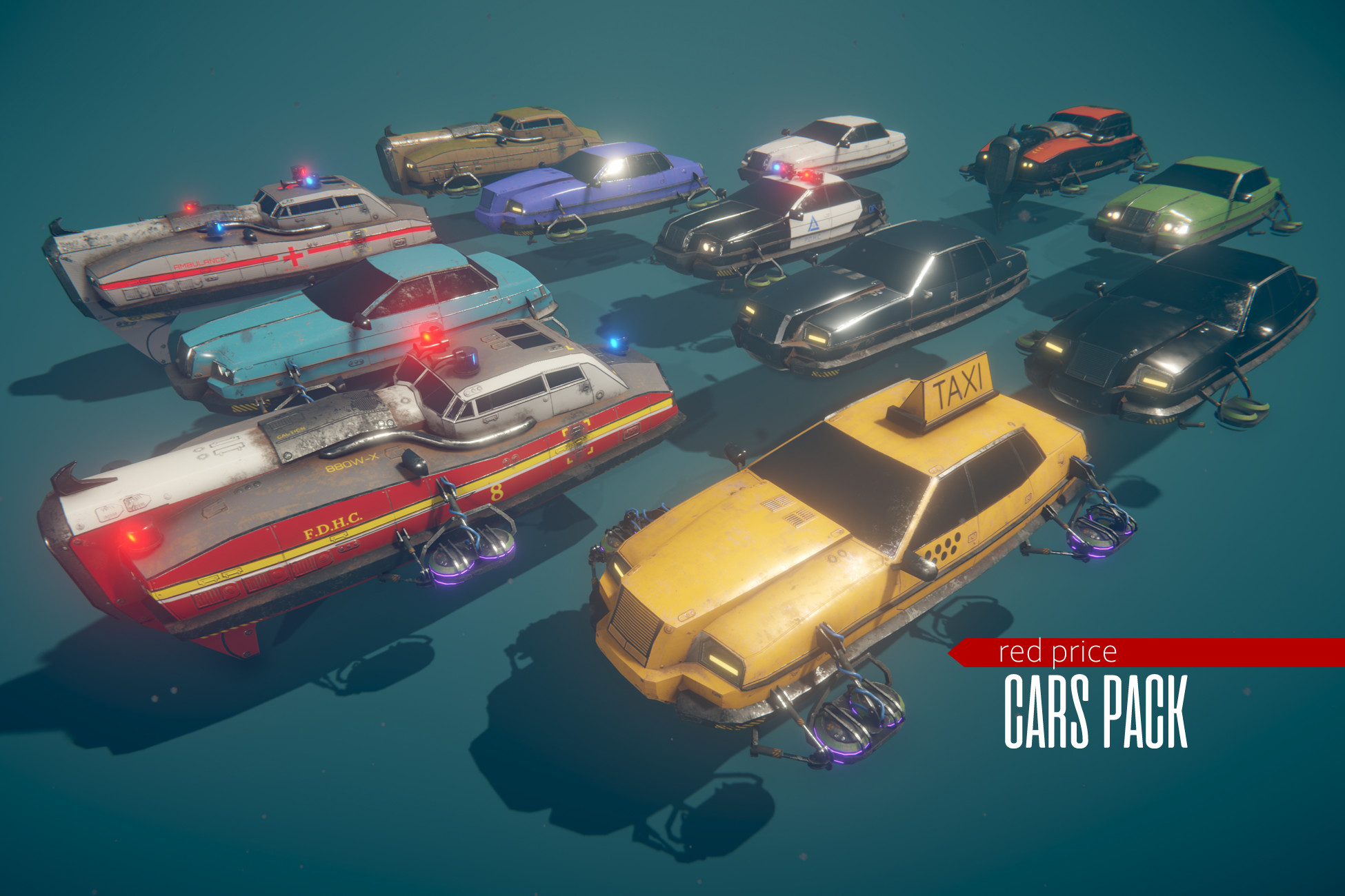 Fly Cars Pack