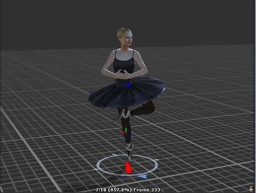 Mobile Ready Ballerina with Dance motions - Asset Store