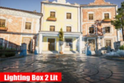 Lighting Box 2 Lit