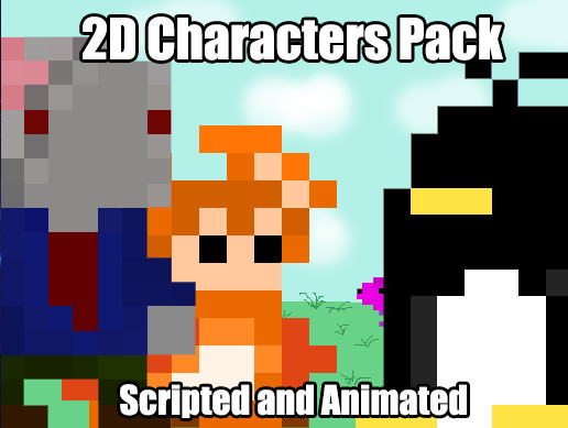 2D Characters Pack + Animations