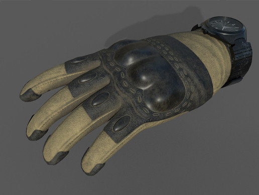 VR Tactical Gloves 1