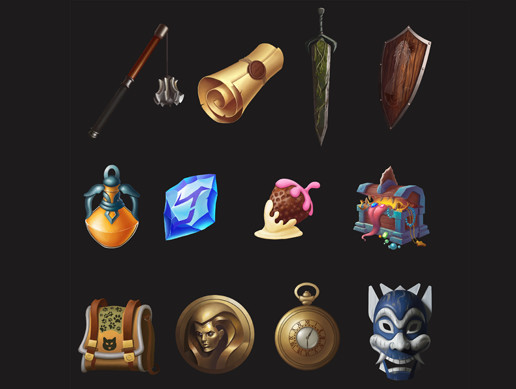 UI Icons for RPG