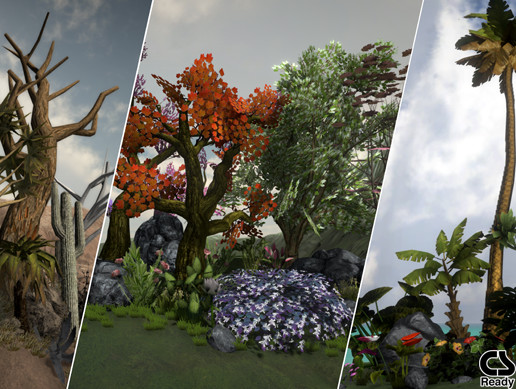 Trees and Vegetation Mega Pack