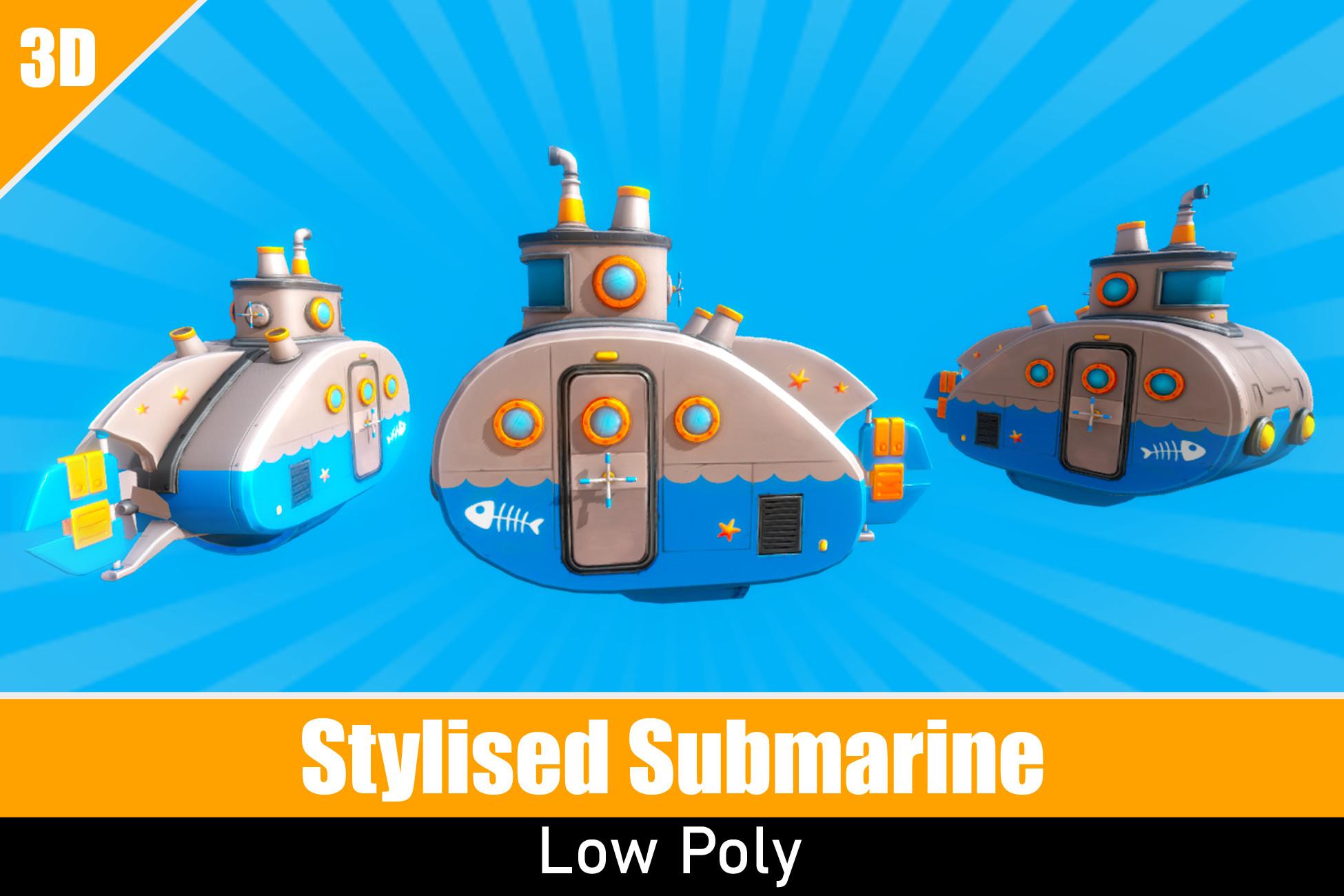 Stylized Submarine
