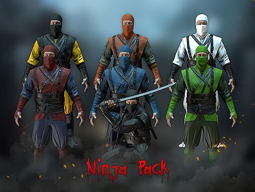 Ninja Pack - PBR