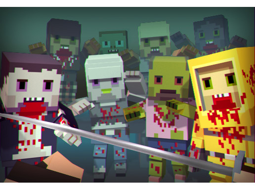Cubic People vs Zombies