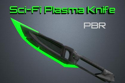 Sci-fi Plasma Knife [PBR]