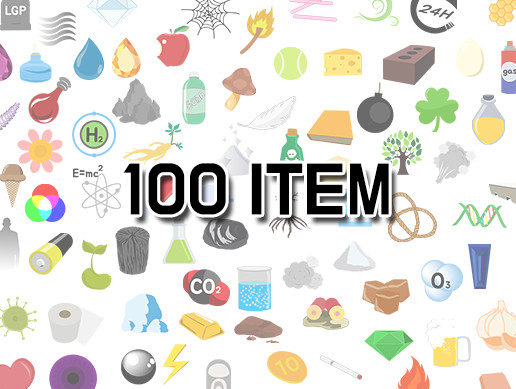 100 Alchemy item icons - free