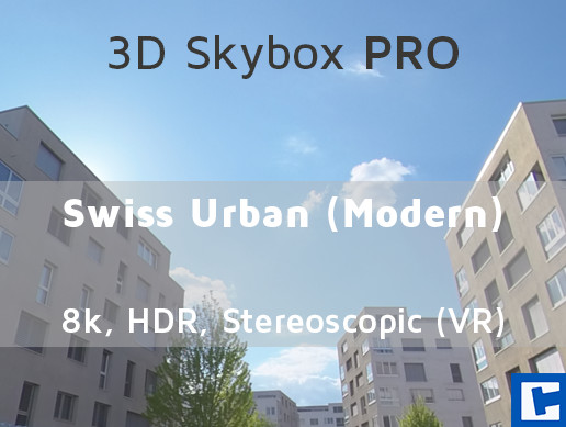 3D Skybox PRO - Swiss Urban (Modern)