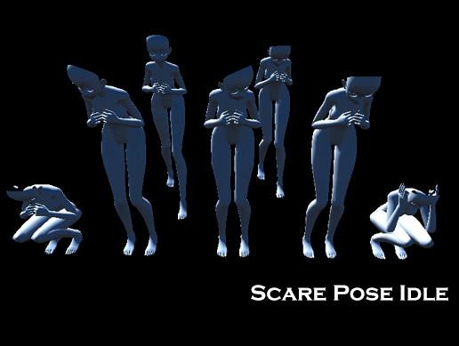 Scare Pose Idle