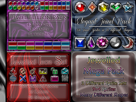 Jewelled Mega Pack