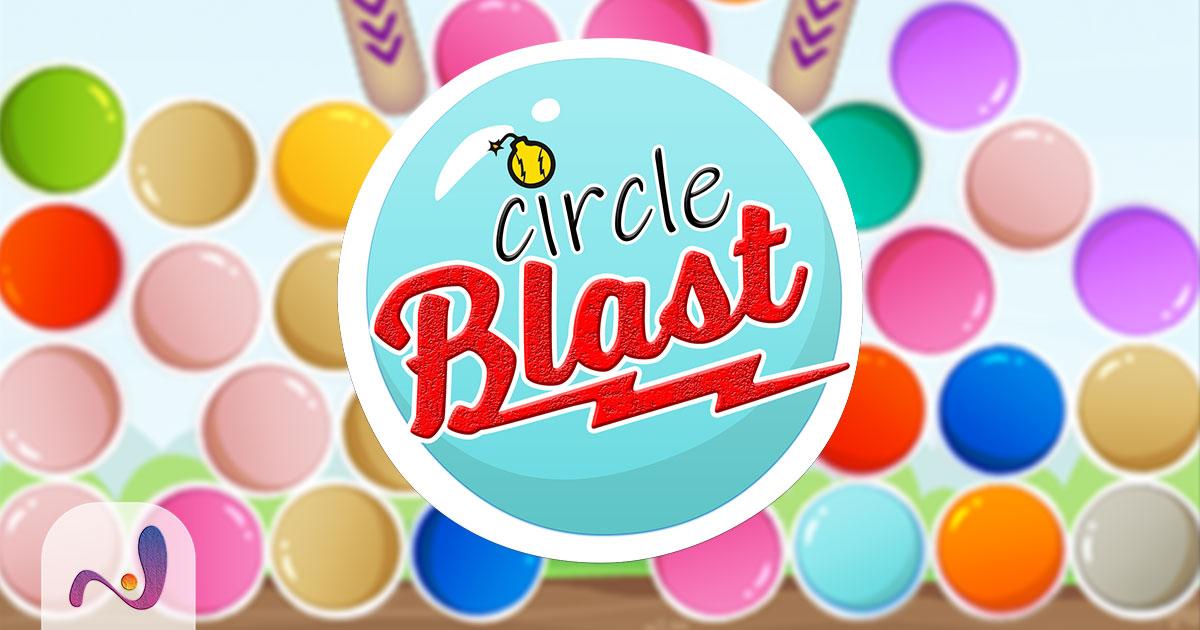 Circle Blast - game template