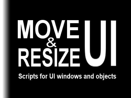 Move & Resize UI: Scripts for UI Windows and Objects - Asset