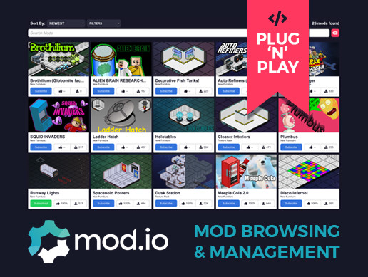 Mod Browser & Manager - Asset Store