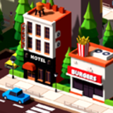 Low Poly City Block A