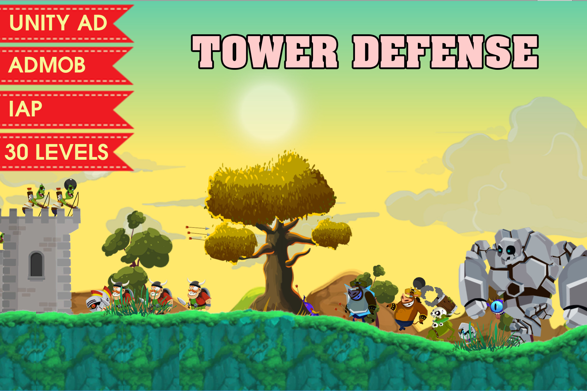 TOWER DEFENSE COMPLETE GAME