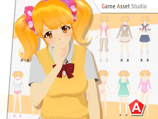 Satomi Character Pack