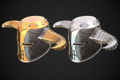 Knight Helmet 10