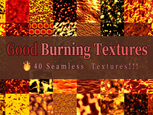 Good Burning Textures