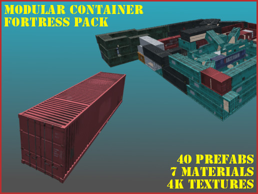 Storage Container Fort Pack