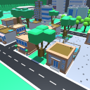 Low poly city from Viuletti