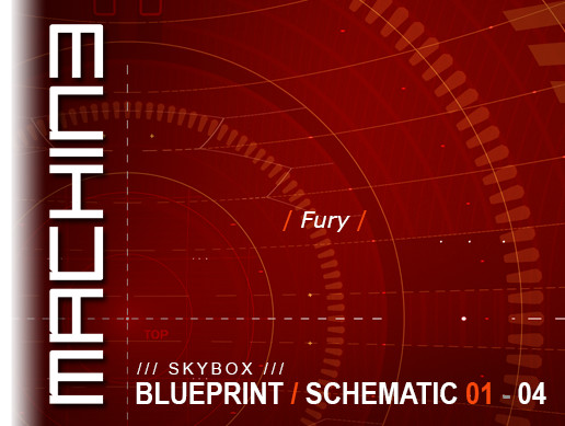 Blueprint / Schematic - Skybox 01 - 04 Fury
