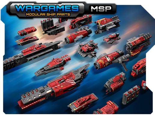Modular Ship Parts #MSP
