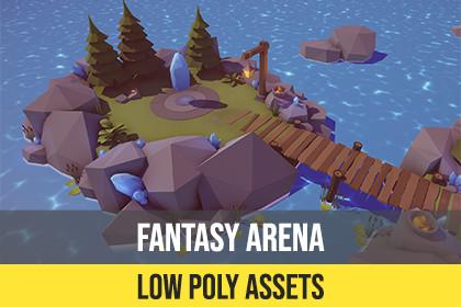 Low Poly Fantasy Arena