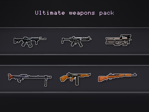 Ultimate weapons pack