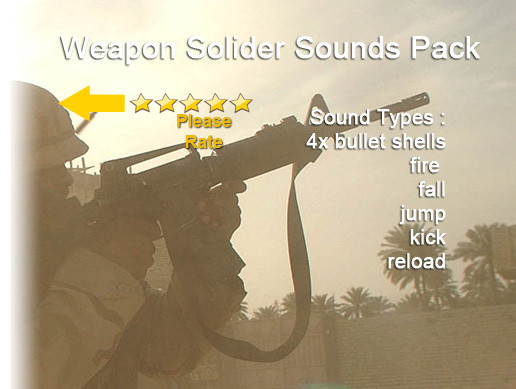 Weapon Soldier Sounds Pack