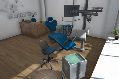 Dental room - interior and equipment
