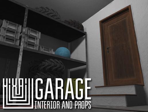 Garage - interior and props